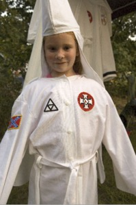 kkk-child-in-robe